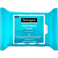 Neutrogena Hydro Boost Make-Up Remover Facial Wipes, 25