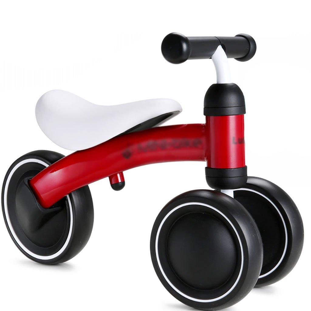 Babywagen Kinderwagen Kinder Radfahren   1-3 Jahre Alt Metall Spielzeug DREI Runden Kinderfahrräder Baby Keine Ketten Skating Bike Baby Wagen (Farbe   C)
