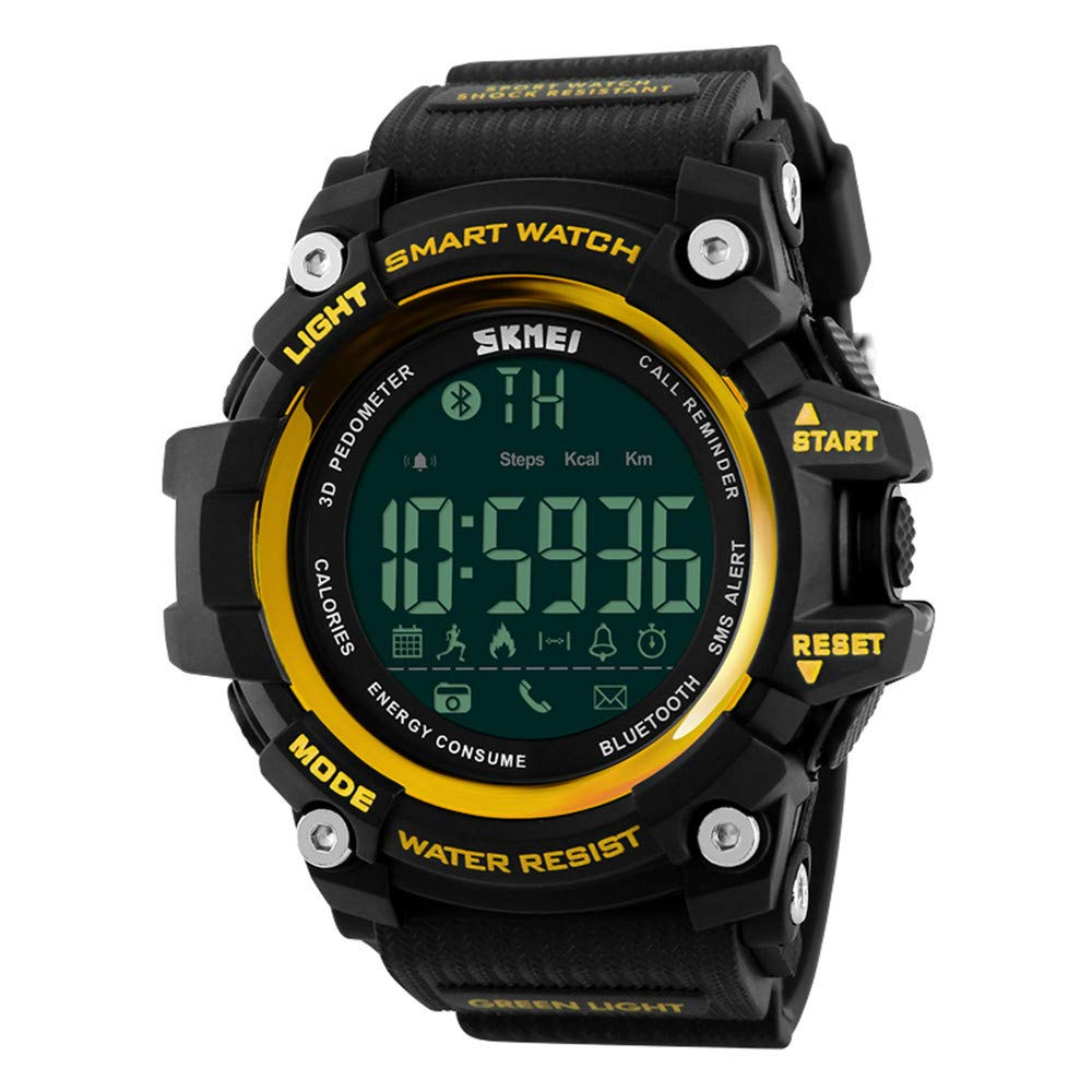Amazon.com: Outdoor Sport Smart Watch Men Bluetooth ...