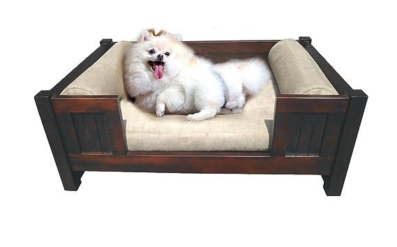 Amazon.com: d-art Collection Caoba Trevor mascota cama: Mascotas