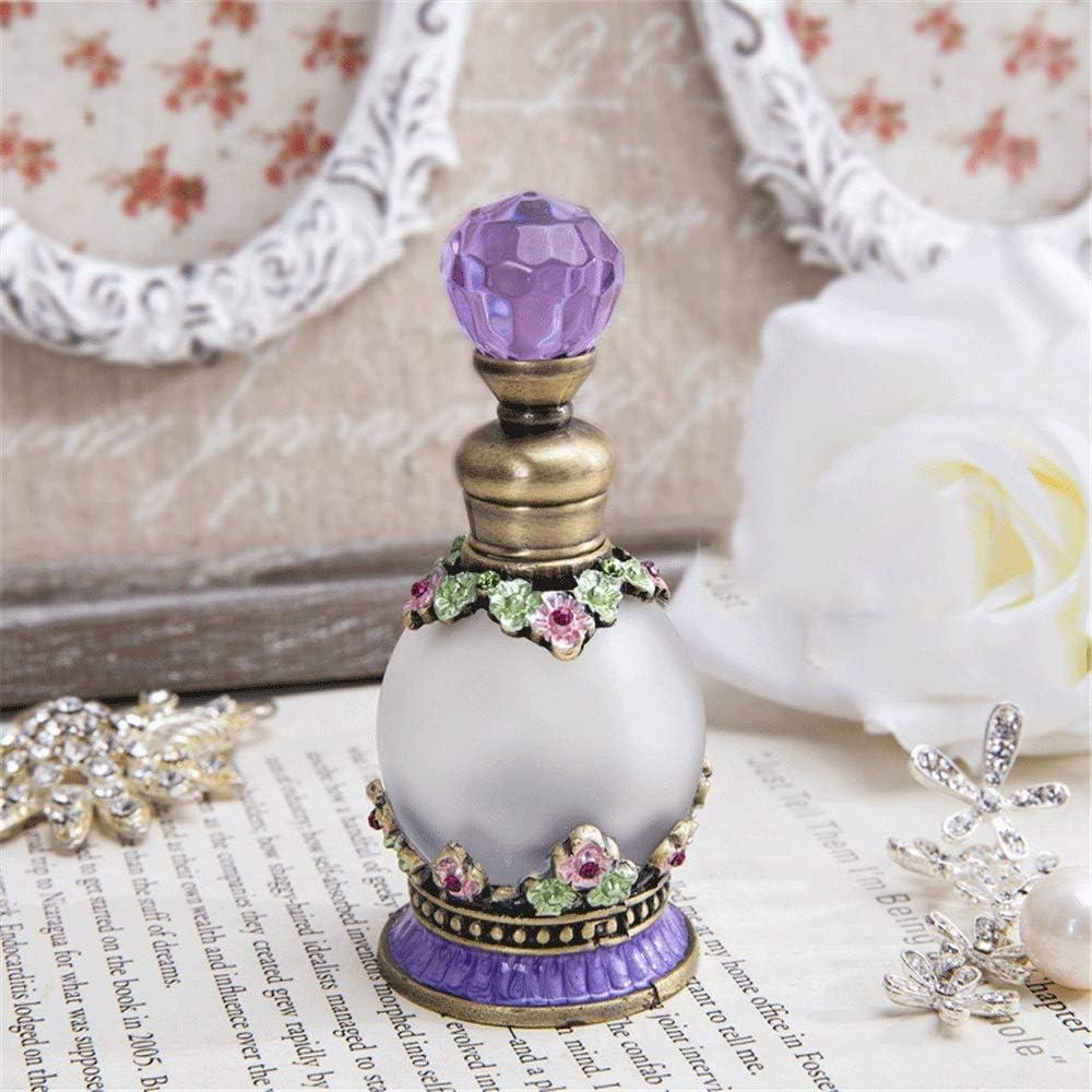 Esféricas de vidrio esmerilado 15 ml de perfume accesorios de mesa botella de aceite esencial de vestir sub-embotellada tatuaje del color tabla de sub-embalaje vestidor decoración decoración de la mes: Amazon.es: Hogar