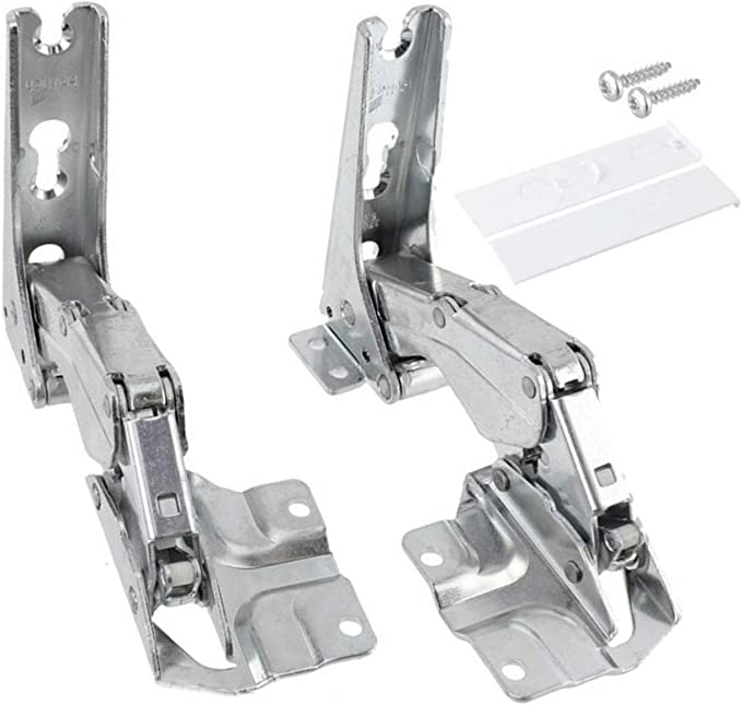 Pair of Hinges For Bosch Neff Siemens Integrated Fridge Freezer 481147 Left or Right side
