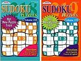 KAPPA Sudoku Puzzles Book (2 Volumes/Books) Digest Size