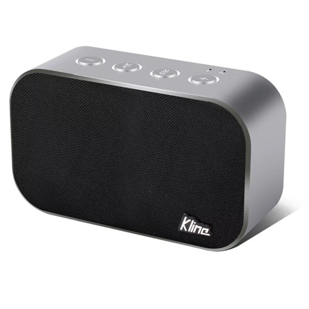 CUAEELO KLINE SoundCore Bluetooth Speaker with 24-Hour Playtime, 66-Foot Bluetooth Range & Built-in Mic, Dual-Driver Portable Wireless Speaker with Low Harmonic Distortion and Superior Sound - Black