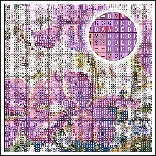 ZXX5D 5D Diamant Schilderset voor Volwassenen Dier Teddy Hond Afbeeldingen - 26 Volledige Boor Grote Ronde Strass Borduurwerk Cross Stitch Mozaïek Handgemaakte Kunst Gift 50x70cm