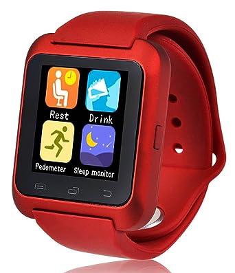 U80 inteligente Reloj Bluetooth Anti-perdida teléfono del reloj del compañero para Android (función