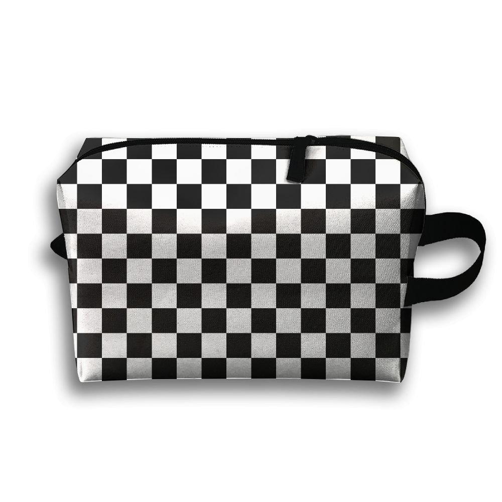 定番 Rong Fa Cosmetic B07DJC8ZKS Checkerboard Chess Boardポータブル旅行メイクアップバッグ、ストレージバッグポータブルレディースTravel Square Square Cosmetic Bag B07DJC8ZKS, olive&popeye:f1376ffe --- svecha37.ru
