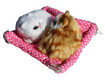 Amazon.com: FCD - Colchoneta de peluche, diseño de gatos ...