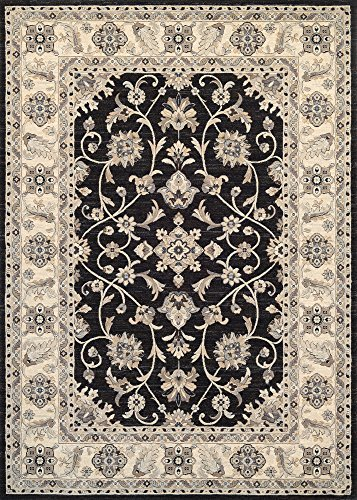 Couristan Everest Collection Round Rosetta Rug, 2'7
