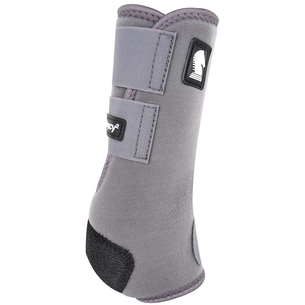 Legacy2 Support Boot, Hind, Medium, Purple by Classic Equine