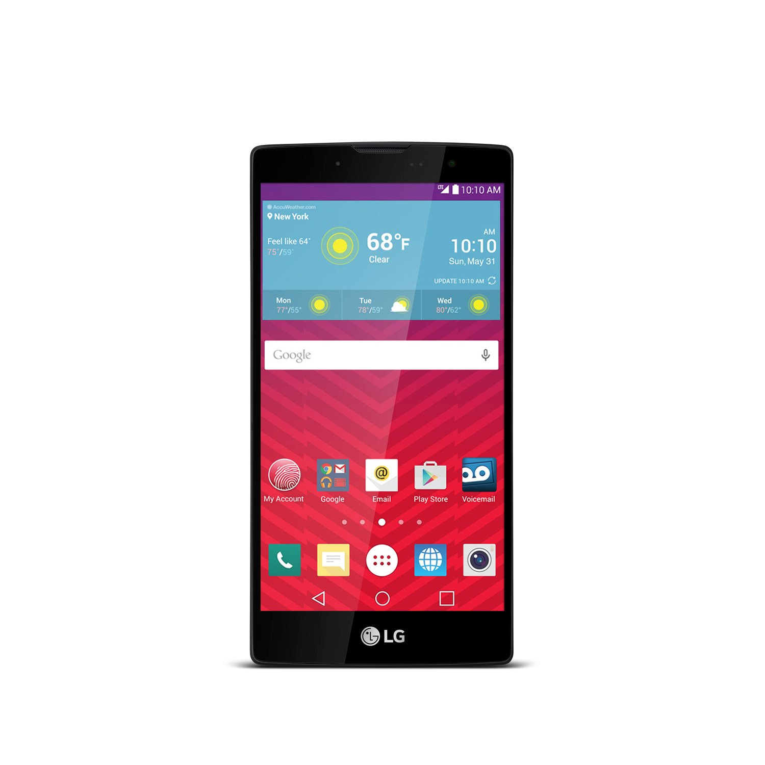 LG Volt 2 Gray No-Contract Phone (Virgin Mobile)