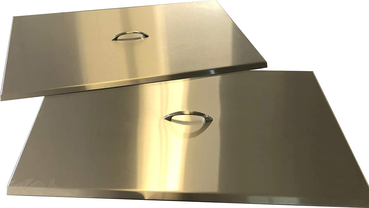 Commercial Fryer Cover (Take Measurements Before Buying) Stainless Steel