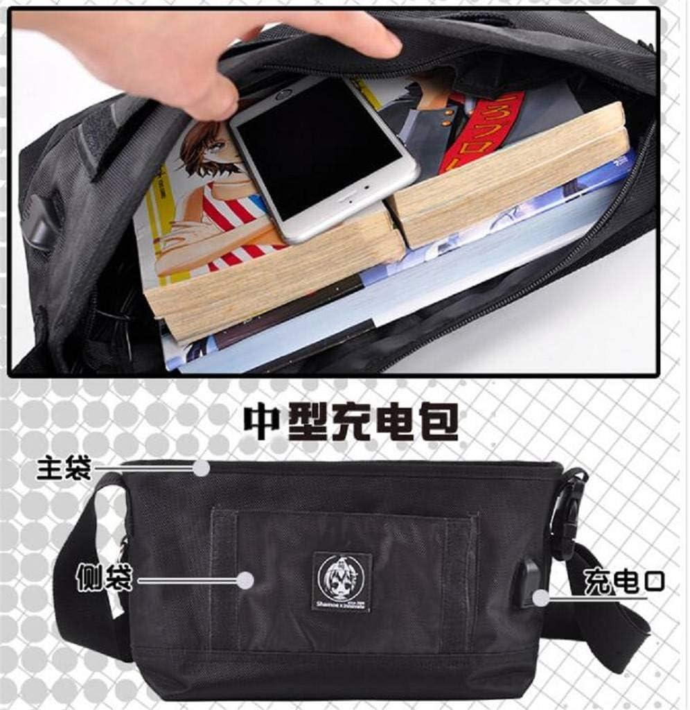 GO2COSY Anime Messenger Bag Handbag Cross-body Tote Bag Student Bag Shoulder Bag for Tokyo Ghoul Cosplay