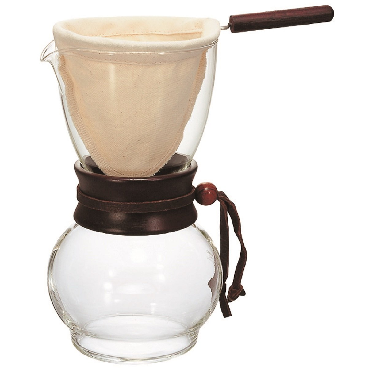 Hario Drip Pot (240ml) Natural DPW-1