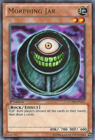 Yu-Gi-Oh! - Morphing Jar (LCYW-EN121) - Legendary Collection 3: Yugi's World - Unlimited Edition - Ultra Rare