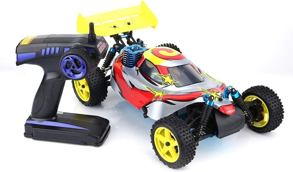 Pbzydu Coche de Control Remoto, Vehículo Todoterreno de Alta Velocidad con Motor de Gasolina, Coche de orugas eléctrico a Escala 1:10, Regalo de Juguete de pasatiempo para Adultos y niños