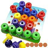 Skoolzy Toddler Educational Toys - Peg Puzzles