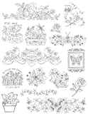 Aunt Martha's 402 Flowers and Butterflies