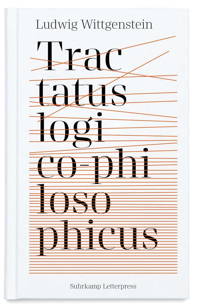 Tractatus logico-philosophicus - Logisch-philosophische Abhandlung (Suhrkamp Letterpress)