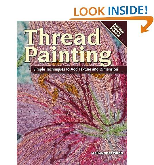 Thread Painting Amazoncom