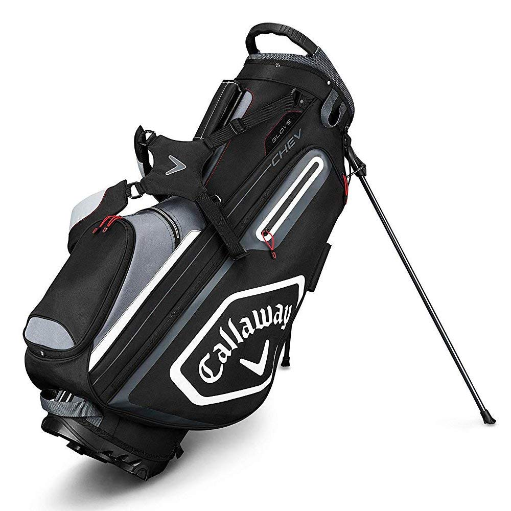 Callaway Golf 2019 Chev Stand Bag, Black/Titanium/White by Callaway