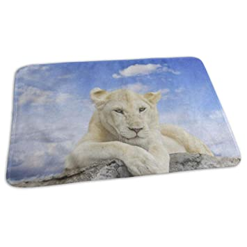 Amazon com : Changing Pad White Lion with Blue Sky Stone