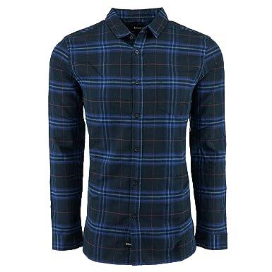 df1da060dc4 Amazon.com  Globe Mens Dock Woven Button Up Long-Sleeve Shirt  Clothing