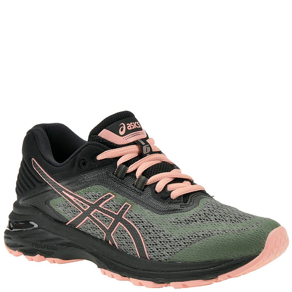ASICS GT-2000 6 Trail Women's Running B071P2Z2SB 7.5 B US|Four Leaf Clover/Black/Black