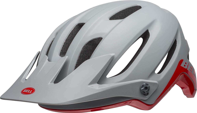 BELL 4Forty MIPS MTB Fahrrad Helm grau rot 2019