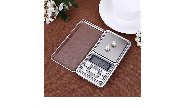 Básculas de Cocina, Ecotrumpuk Báscula digital con mini bolsillo LED, para balanza de equilibrio, peso electrónico: Amazon.es: Electrónica