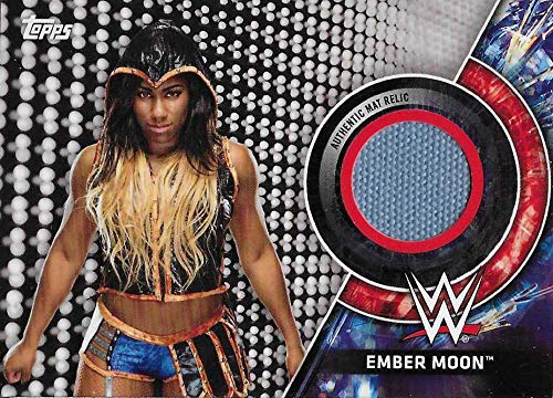 2018 Topps WWE Women's Division Evolution Mat Relics #MR-EM Ember Moon Royal Rumble 2018 NM-MT MEM 35/199 Royal Rumble 2018 from WWE Women's Division Evolution