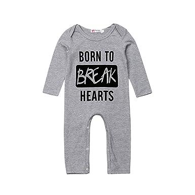 3f9810588c58 Amazon.com  ZWINZ Toddler Infant Baby Boys Girls Little Kids Romper ...