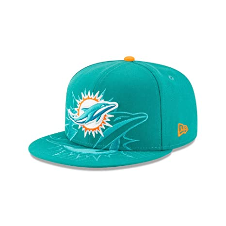 59c29314e ... where to buy new era miami dolphins aqua logo spill 9fifty snapback hat  cap 38b40 3786c