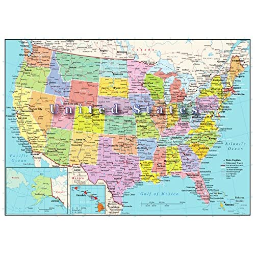 United States Of America Map Piece Jigsaw Puzzle Highways - Map of us rivers and states