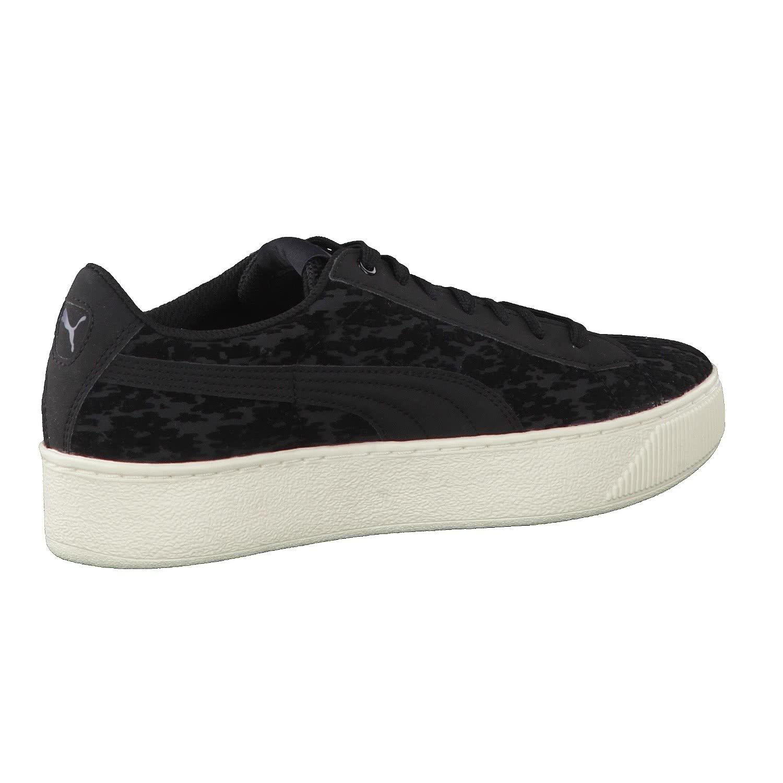 Puma Vikky Platform VR Sneaker Women kids Trainers 363730 02 black, tamaño de zapato:EUR 42