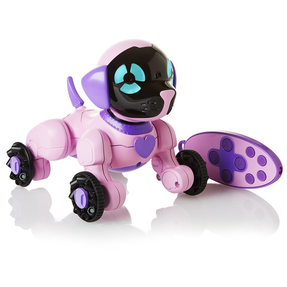 WowWee Chippies Robot Toy Dog - Chippette (Pink) by WowWee (Image #1)