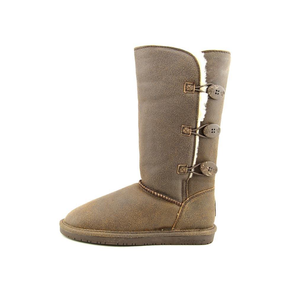 BEARPAW Women's Lauren Boot (7 B(M) US, Chestnut Distressed) by Bearpaw (Image #2)