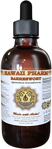 Barrenwort Epimedium Grandiflorum Liquid Extract 4 oz