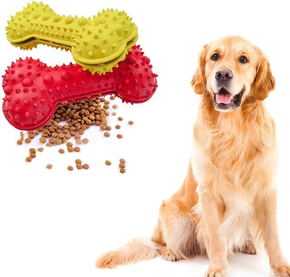 SuperUS Pet Dog Chew Toys Aggressive Chewer Training Tooth Cleaning Pet Molar Toy