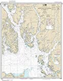 NOAA Chart 17420: Hecate Strait to Etolin Island: including Behm and Portland Canals 33.7 x 43.6 (TRADITIONAL PAPER)