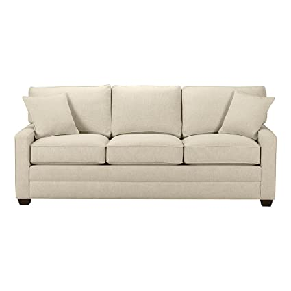 Charmant Ethan Allen Bennett Track Arm Sofa, 78u0026quot; Sleeper, Palmer Pearl Chenille  Fabric