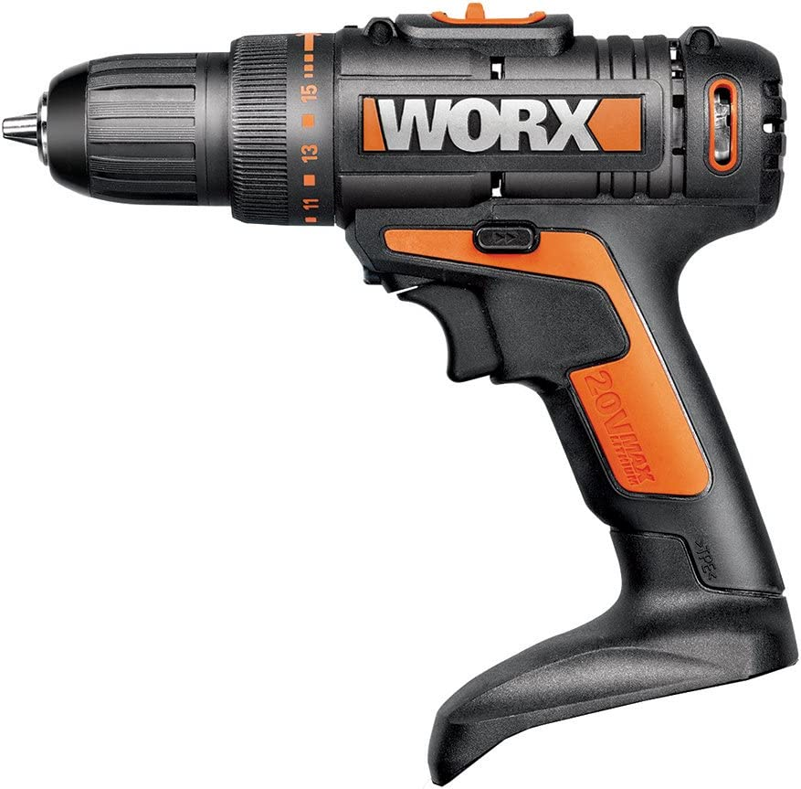 WORX WX169L.9 20V Cordless Drill and Driver, 2-Speed Design with Precise Torque Management