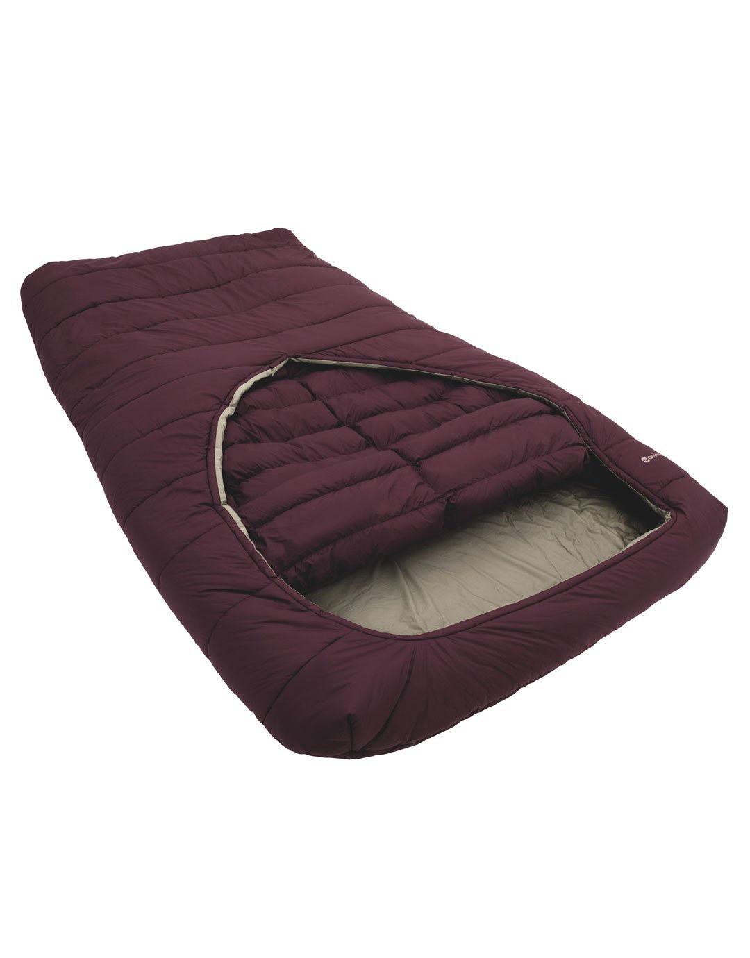bb0a06e8c71 Outwell Conqueror Double camp sleeping bag red 2016 mummy sleeping bag   Amazon.co.uk  Sports   Outdoors