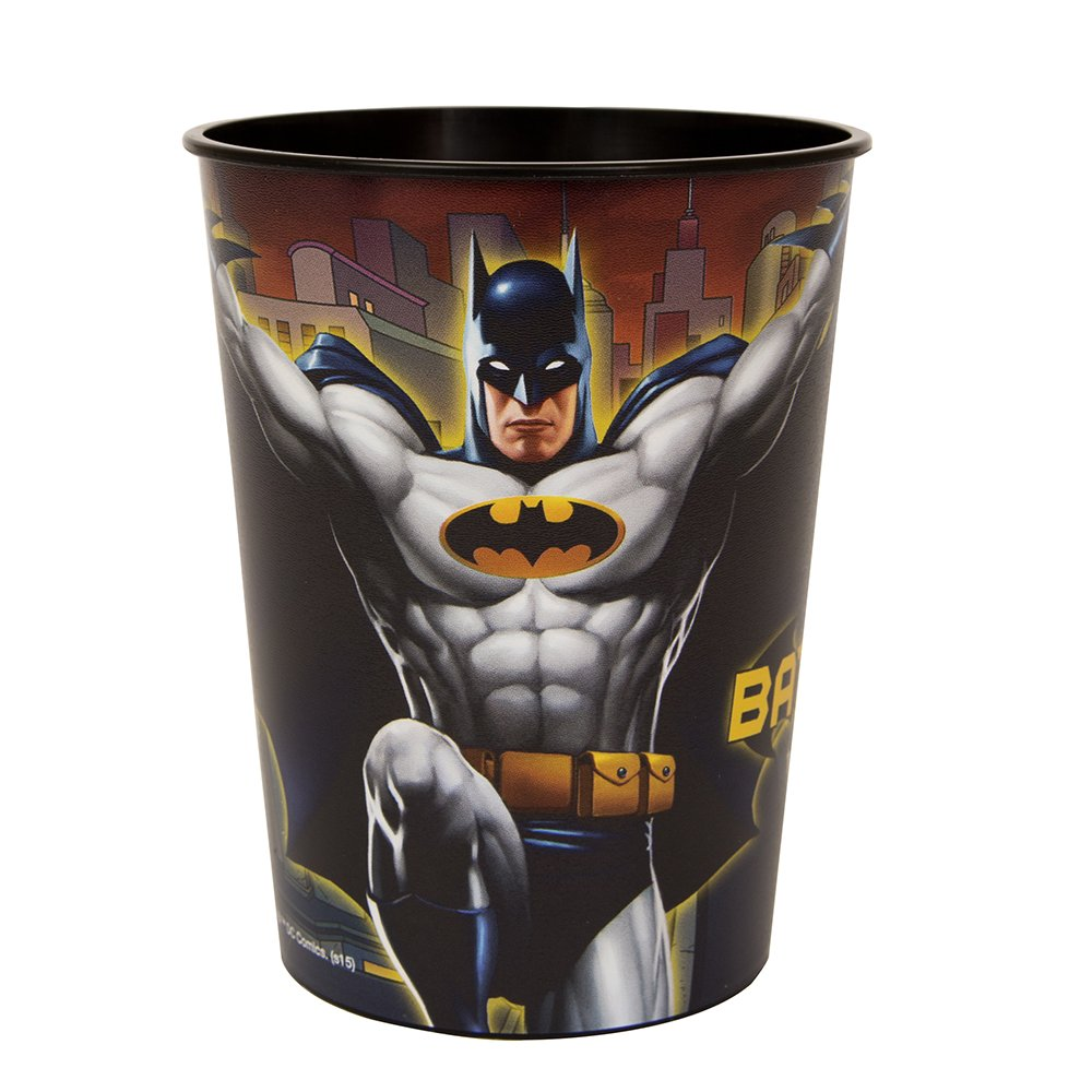 16oz Batman Plastic Cups, 12ct