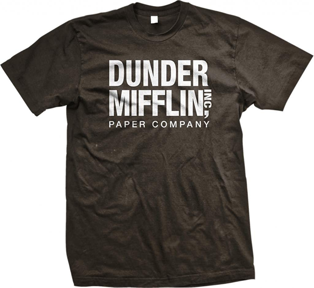 The Office TV Show Dunder Mifflin Paper Men's Royal Blue T-Shirt