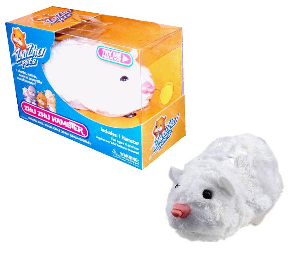 Zhu Zhu Pets Hamster Chunk - White by Zhu Zhu Pets
