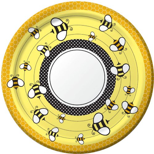 Bee Party Supplies Banquet Plates