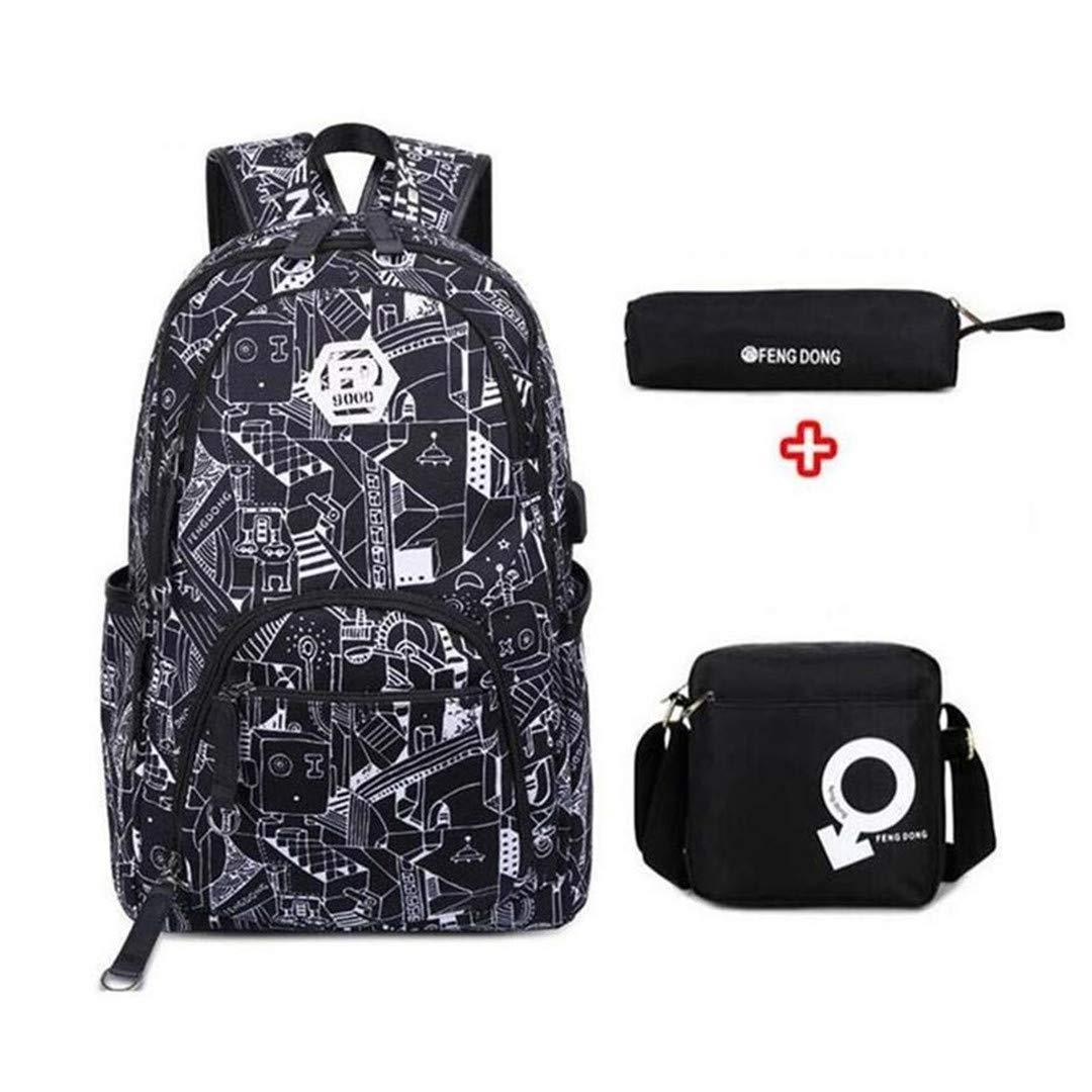 C3 3 Boys Bag Student Waterproof Travel Notebook Backpack