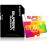 128gb TF Memory Card (Class 10 High Speed) Full Hd Video Micro SD Memory Card/SD Memory Cards with Adapter for Camera, Phone,