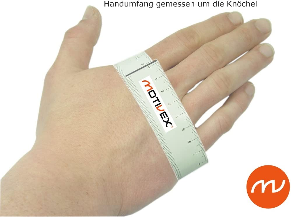 MOTIVEX Gants de Voile Professional Noir//Orange Tailles S /à XL